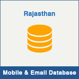 Rajasthan Mobile Number Database & Email Database