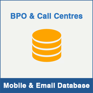 BPO & Call Centers Mobile Number Database & Email Database