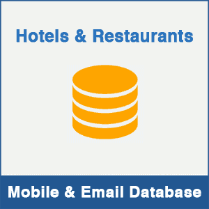 Hotels & Restaurants Mobile Number Database & Email Database