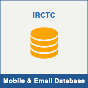 IRCTC Mobile Number Database & Email Database
