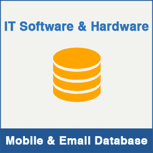 IT Software & Hardware Mobile Number Database & Email Database