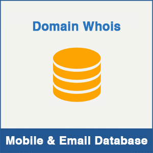 Domain Whois Mobile Number Database & Email Database