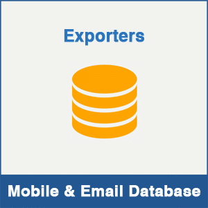 Exporters Mobile Number Database & Email Database
