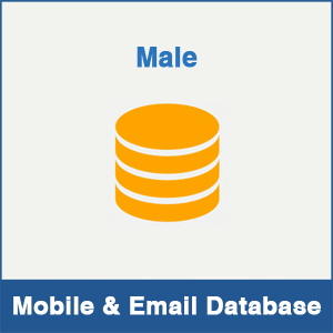 Male Mobile Number Database & Email Database