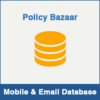 Policy Bazaar Mobile Number Database & Email Database
